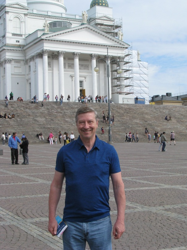 Daniel Molyneux, American author, Fairfield CA, The Angel of Antioch, Finland, Russian books, book research, Helsinki Cathedral, Lutheran, Rasputin,